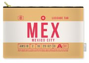 Retro Airline Luggage Tag 2.0 - Mex Mexico City International Airport Mexico Carry-all Pouch