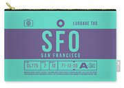 Retro Airline Luggage Tag 2.0 - Sfo San Francisco International Airport United States Carry-all Pouch