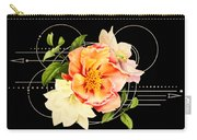 Floral Abstraction Carry-all Pouch by Bee-Bee Deigner