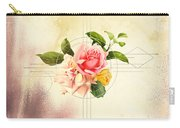 Golden Abstraction Carry-all Pouch by Bee-Bee Deigner