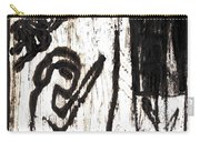 Assassin After Mikhail Larionov Black Oil Painting 10 Carry-all Pouch