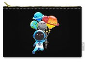 Astronaut With Planet Balloons Outta Space Carry-all Pouch