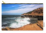 At The Edge Carry-all Pouch by Alison Frank