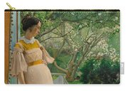 At The French Windows. The Artist's Wife Carry-all Pouch