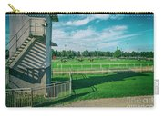 At The Racetracks #2 Carry-all Pouch