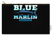 Atlantic Blue Marlin Makaira Nigricans Carry-all Pouch