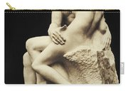 Auguste Rodin The Kiss, 1886 Marble Sculpture Carry-all Pouch