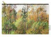 Automne, Peupliers, Eragny - Digital Remastered Edition Carry-all Pouch