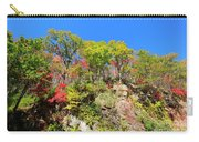 Autumn Color On Newfound Gap Road In Smoky Mountains National Park Carry-all Pouch
