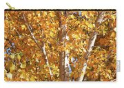 Autumn Golden Leaves Carry-all Pouch