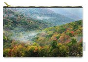 Autumn Hillsides With Mist Carry-all Pouch
