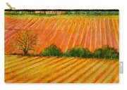 Autumn In French Vineyards Carry-all Pouch