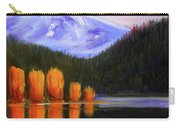 Autumn Lake Reflection Carry-all Pouch