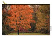 Autumn On The Trail Carry-all Pouch by Allin Sorenson