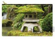 Autumn, Pagoda, Japanese Garden Carry-all Pouch