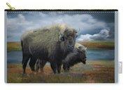 Autumn Plains Bison Carry-all Pouch