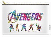 Avengers Team Carry-all Pouch