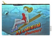 B - 17 Aluminum Overcast Pin-up Carry-all Pouch