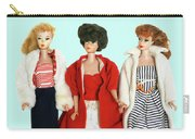 Baby It's Cold Outside Barbies Carry-all Pouch