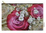 Baby's Breath And Roses Carry-all Pouch