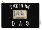 Back In The Day 80s Cassette Funny Old Mix Tape Carry-all Pouch