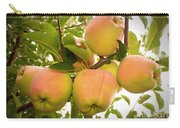 Backyard Garden Series - Apples In Apple Tree Carry-all Pouch