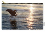 Bald Eagle At Sunset Carry-all Pouch