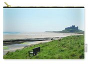 Bamburgh Castle And Beach Carry-all Pouch