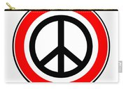 Ban The Bomb Road Sign Carry-all Pouch