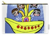 Banana Submarine Carry-all Pouch by Mark Armstrong