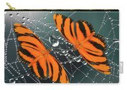 Banded Orange Butterfly. Carry-all Pouch