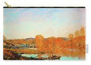 Banks Of The Seine Near Bougival - Digital Remastered Edition Carry-all Pouch
