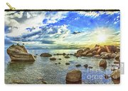 Bansai Rock, Lake Tahoe, Nevada, Panorama Carry-all Pouch
