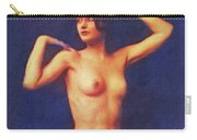 Barbara Stanwyck, Vintage Movie Star Nude Carry-all Pouch
