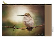 Barbed Wire Hummingbird Perch Carry-all Pouch
