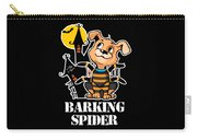 Barking Spider Halloween Design For Dog Lovers Dark Carry-all Pouch