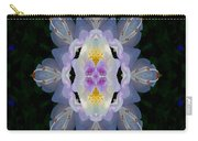 Baroque Fantasy Flowers Ornate Carry-all Pouch