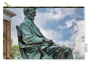 Bascom Hall Lincoln Statue Carry-all Pouch