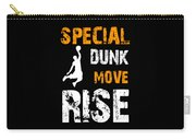 Basketball Sports Player Special Dunk Move Rise Gift Idea Carry-all Pouch