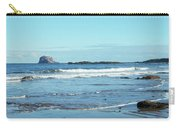 Bass Rock And Beach At North Berwick Carry-all Pouch