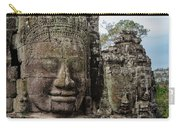 Bayon Faces, Angkor Wat, Cambodia Carry-all Pouch