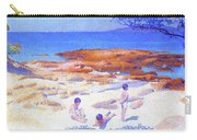 Beach At Cabasson - Digital Remastered Edition Carry-all Pouch