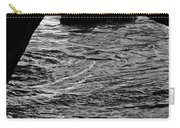 Beach Cave Monochrome Carry-all Pouch