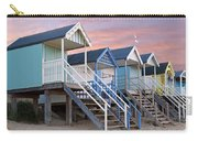 Beach Huts Sunset Carry-all Pouch
