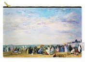 Beach Of Trouville - Digital Remastered Edition Carry-all Pouch