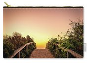 Path Over The Dunes At Sunrise. Carry-all Pouch by Jeff Sinon