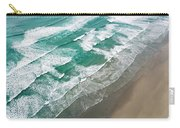 Beach Waves From Above Carry-all Pouch