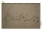 Beach Written Text  Carry-all Pouch