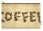 Bean Making Coffee Carry-all Pouch