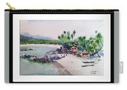 Beautiful Beach In Goa India Carry-all Pouch